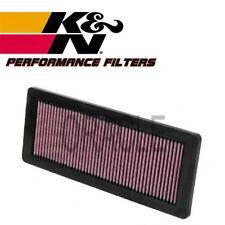 K&N HIGH FLOW AIR FILTER 33-2936 FOR PEUGEOT RCZ 1.6 16V 200 BHP 2010-