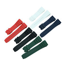 25mm Rubber Diver Watch Band Replacement Strap (11L) For RICHARD MILLE