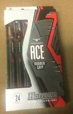 Harrows Ace Rubber Grip 24g Steel Tip Darts 12863 w/ FREE Shipping