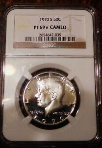 1970 S Proof 69 NGC CAMEO STAR 40% Silver Kennedy Half Dollar PR PF PRF CAM 50 *