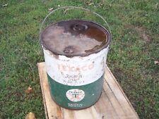 VINTAGE Texaco 5 GALLON OIL METAL EMPTY CAN