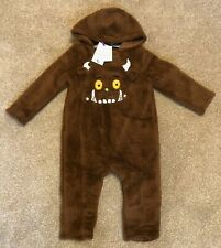 Tu Baby Boys THE GRUFFALO Warm All in One Snowsuit pramsuit 12-18 Months - New!