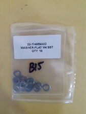 Washer-Flat M4 SST Lot of 16 New