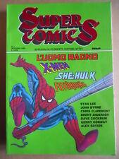 SUPERCOMICS n°1 1990 - L' Uomo Ragno Stan Lee She Hulk X-Men ed. MBP    [G257]