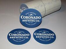 NEW 125 Coronado Brewing Co. Stay Coastal Mermaid Beer Bar Coaster Lot Lift Blue