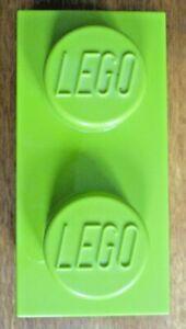 LEGO Empty Green Storage Box / Tub / Bucket / Container