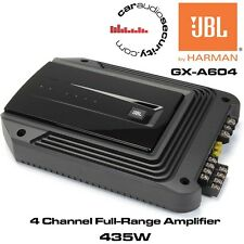 JBL GX-A604 - 4/3 Channel Car Amplifier Speaker and Subwoofer Amaplifer