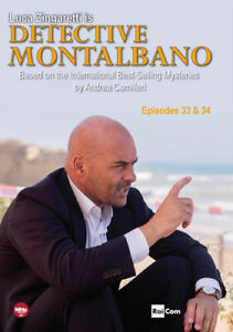 Detective Montalbano: Episodes 33 & 34 [New DVD] 2 Pack, Widescreen