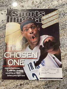 "🔥Lebron James Sports Illustrated Feb.18, 2002 ""The Chosen One"" FIRST COVER RC💯"