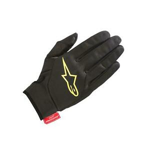AlpineStars Cascade Gore Windstopper Glove Black Acid Yellow S