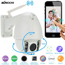 KKmoon 1080P HD IP PTZ CCTV camera H.264 Auto-focus PTZ Wireless WiFi IP Zoom Mi