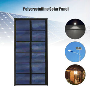 1W 3V Mini Solar Panel Battery Charge Module DIY Kit for Phone Charger Lamp