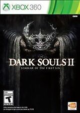 Dark Souls II 2 Scholar of the First Sin RE-SEALED Microsoft Xbox 360 GAME