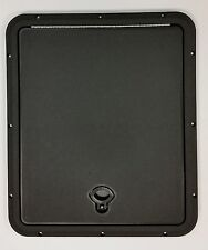 """DPI Marine 18"""" x 16"""" Flush Series Hatch/Door Black"""