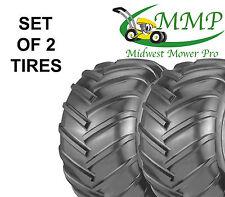 SET OF 2 New 22X11-10 4Ply Chevron Bar Tread Tires K472 Grasshopper 482483