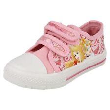 Chaussures roses en toile pour fille de 2 à 16 ans pointure 29