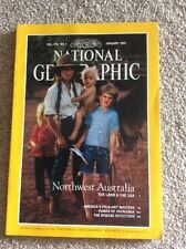NATIONAL GEOGRAPHIC MAGAZINE JANUARY 1991