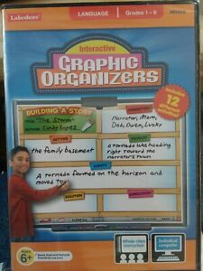 Lakeshore Interactive Graphic Organizers Language Game Grades 1-6 PC/MAC