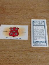 Ciigarette Card Wills No 61 City Arms Winchester M4825