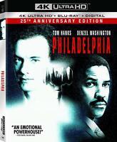 Philadelphia (4K Ultra HD Blu-ray) NEW Factory Sealed, Free Shipping