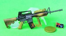 M4A1 1:6 Scale Action Figure FIREARM RIFLE DESERT CAMO OPERATION MODEL M4A1_B