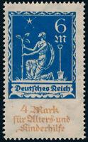 DR 1922, MiNr. 233 DD, sauber postfrisch, gepr. Dr. Oechsner, Mi. 380,-