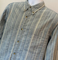 The Territory Ahead Vintage Mens Long Sleeve Button Up Down EUC Shirt Size Large