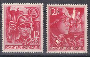 DR 1945 SA + SS Michel 909 + 910 Postfrisch ** MNH