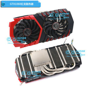 For Msi GTX 1060 Red Dragon cooling Fan with Heatsink PLD10010S12HH