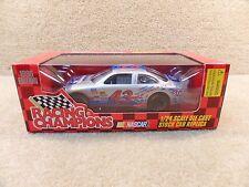 New 1996 Racing Champions 1:24 NASCAR Bobby Hamilton STP Silver Paint Grand Prix