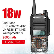 Handheld Baofeng Uv-9r Plus Walkie Talkie VHF UHF Dual Band Two Way Radio