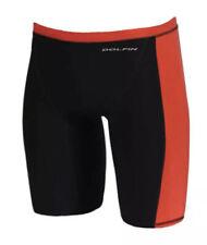 Dolfin Platinum 2 Jammer Black Red Fina Approved Size 30 Technical Suit