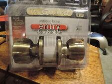 TruGuard  Door Knobs With keys. For Entry. Antique Brass. TS800B-KA3