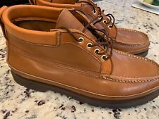 Russell Moccasin Art Carter Chukka 12&1/2 size, mint condition/never worn, tans
