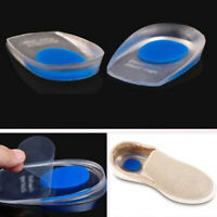 Cup Gel Heel Support Pad ilicone Cushion Insole Pair Care New HOT Sale Latest