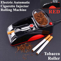 Cigarette Injector Maker Tobacco Roller Automatic Cigarette Rolling Machine Red