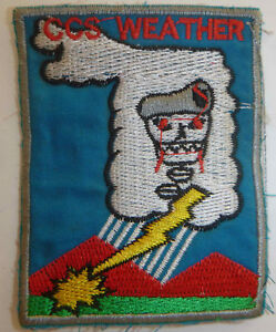 Command South Patch - RECON TEAM WEATHER - MACV-SOG - Vietnam War - 0968