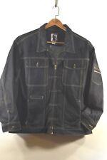 Men's DaDa Denim Jean Jacket size 4XL - Zipper Front and Arm Pocket