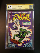 THE SILVER SURFER 2 CGC 7.5 SS STAN LEE 1ST APP BROTHERHOOD & BADOON L@@K @ IT