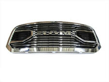 15-18 DODGE RAM LARAMIE FRONT CHROME GRILLE WITH RAM NAMEPLATE NEW MOPAR GENUINE