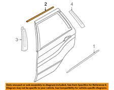 BMW OEM 08-14 X6 Exterior-Rear-Frame Molding Left 51358035595