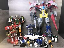Power Rangers,Megazord Bandai Parts And Accesories Lot
