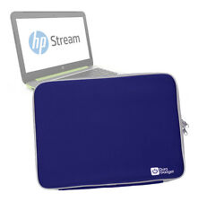 Blue Water/Impact-Resistant Neoprene Case/Pouch/Cover for HP Stream 14