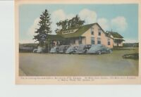 Postcard Quebec Canada Armstrong Inn and Cabins Vintage Unposted