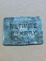 Brass Token Baltimore Bakery Defiance Ohio BrownsFREE SHIPPING INV-P0956