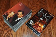 The X-Files Season 3 Three Base set 72 cards + 5 wrappers