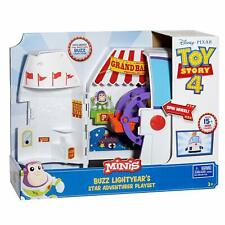 NEW OFFICIAL DISNEY PIXAR TOY STORY BUZZ LIGHTYEAR CARNIVAL PLAYSET CARRY CASE