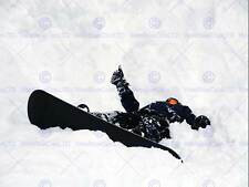 Foto SPORT SNOWBOARD spazzare via Neve Inverno Thumbs Up poster stampa bmp11209