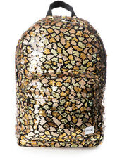 Spiral Sequins Backpack in Snake