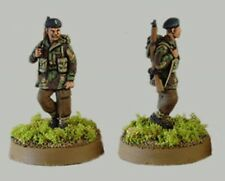 Tqd Pp7A 20mm Diecast Wwii Marching Polish Paras Ii- Berets. 4 Identical Figures